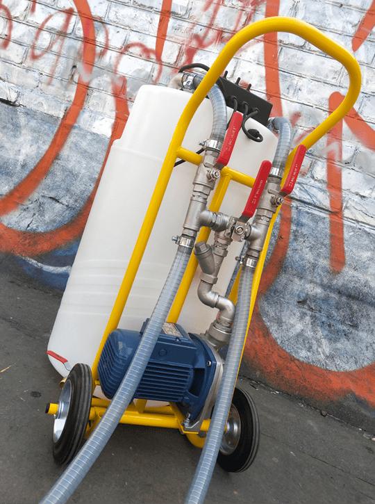 Оборудование химической промывки